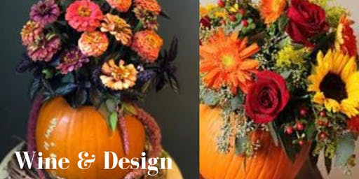 Wine & Design - Pumpkin Bouquet