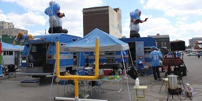 Detroit Lions Eastern Market Tailgating
