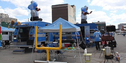 Detroit Lions Eastern Market Tailgating