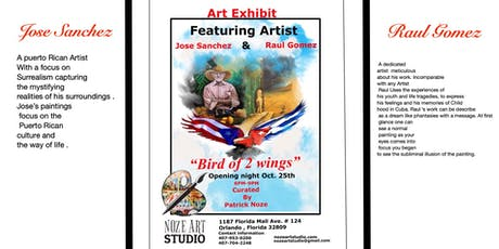 """Bird of 2 Wings"" Art Exhibit tickets"