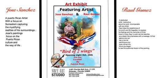 """Bird of 2 Wings"" Art Exhibit"