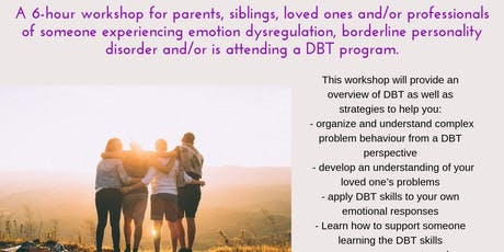 Understanding DBT and Emotion Dysregulation tickets