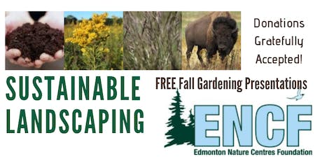 Sustainable Landscaping - Free Presentations tickets