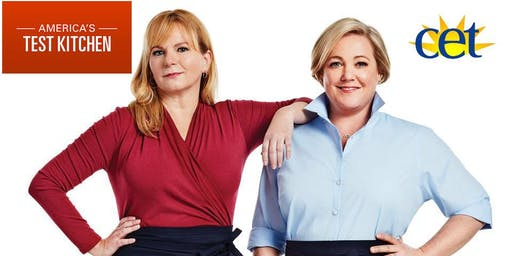 America's Test Kitchen Chefs Julia Collin Davison & Bridget Lancaster-Cinci