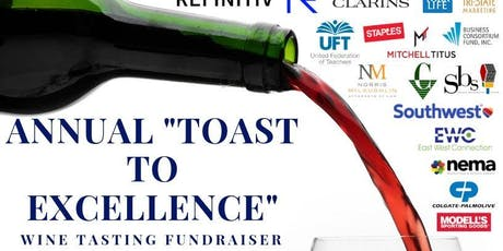 """SCIP 2019 Annual """"Taste to Excellence"""" Wine Tasting Fundraiser tickets"""