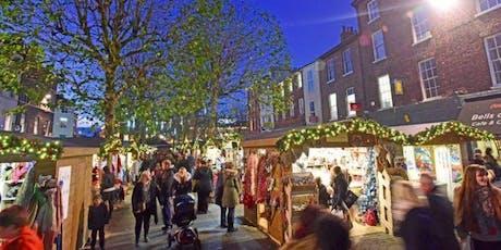 York Christmas Shopping Trip tickets
