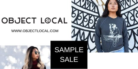 'Object Local' sample sale: 50% off retail tickets