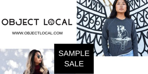 'Object Local' sample sale: 50% off retail