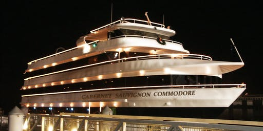 New Year's Eve Fireworks Dinner Cruise on San Francisco Bay
