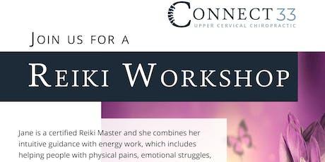 Free Reiki Workshop tickets