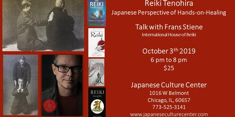 Reiki Tenohira, the Japanese Art of Hands-on-Healing tickets