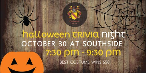 Scary FUN Halloween Themed Trivia Night