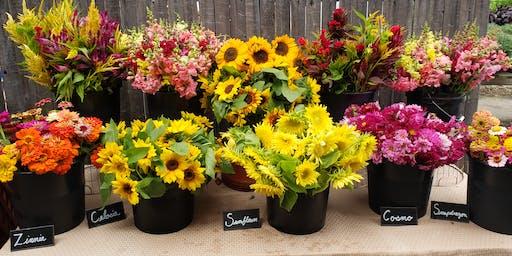 Summer Blooms- August Floral Arrangement Class
