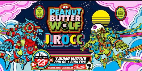 PEANUT BUTTER WOLF  and  J. ROCC tickets