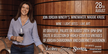 Jordan Winery Tasting With Winemaker Maggie Kruse tickets