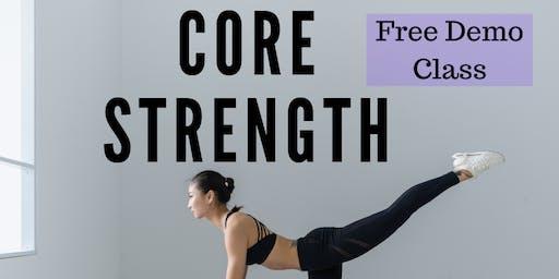 Postpartum/Prenatal Core Strength Class Demo