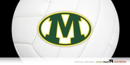 Medina vs Solon FR/JV/Varsity Volleyball (Girls)