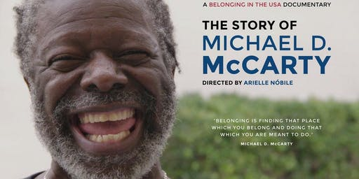 Film & Discussion: Belonging in the USA: The Story of Michael D. McCarty