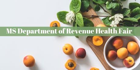 MS Department of Revenue Health Fair tickets