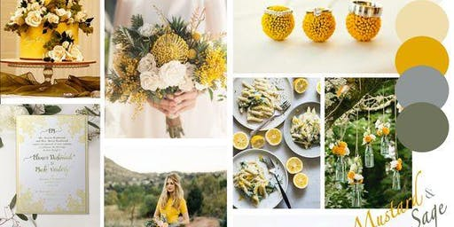 Mustard & Sage Styled Shoot with P. Chevalley Artistry