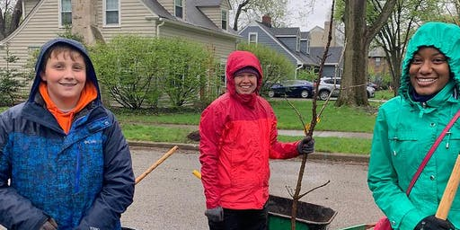 Plant A Tree Day in Indianapolis