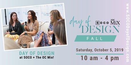 SOCO's Fall Day of Design 2019 tickets