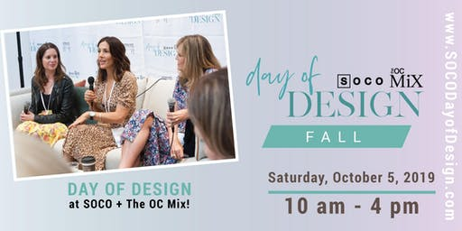 SOCO's Fall Day of Design 2019