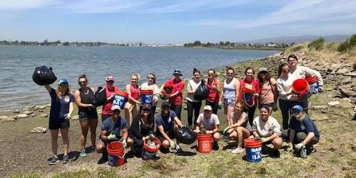 Volunteer Day at the Marine Science Institute