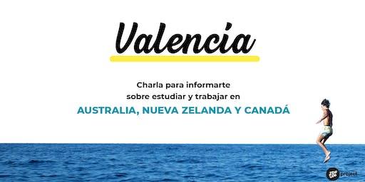 Charla YouTOOProject en Valencia: Australia, Nueva Zelanda y Canadá