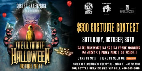 The Ultimate Halloween Party tickets