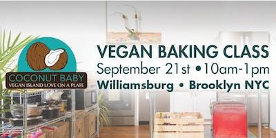 Coconut Baby Vegan Baking Class in NYC