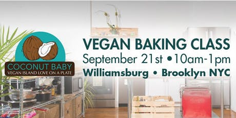 Coconut Baby Vegan Baking Class in NYC tickets