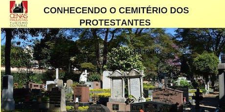 CONHECENDO O CEMITÉRIO DOS PROTESTANTES ingressos