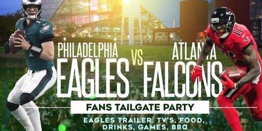 Philadelphia Eagles vs Atlanta Falcons (Eagles Fans Tailgate Party Atlanta)