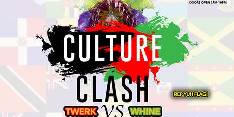 Culture Clash Twerk Vs Whine Labor Day Weekend Virgo szn Flag fete at Taj Lounge Open Bar + Free Entry before 5pm with RSVP @Chase.Simms Simmsmovement sponsored by patron tickets