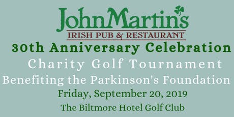 JohnMartin's 30 Year Anniversary Golf Tournament tickets