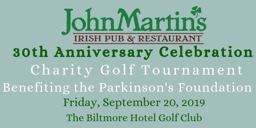 JohnMartin's 30 Year Anniversary Golf Tournament