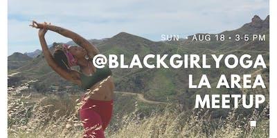 FREE Vinyasa Yoga Class & Meet Up with @blackgirlyoga LA x Rebecca Watson