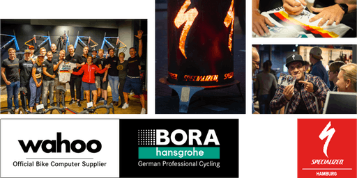 Big Surprise-Party: BORA hansgrohe x wahoo x Specialized Hamburg