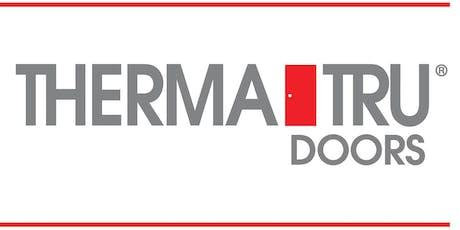 Certified Door System Installer Training with Therma-Tru: Manahawkin tickets