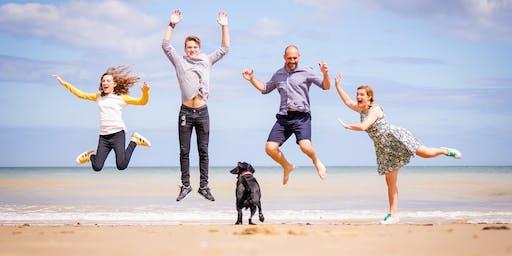 Overstrand Beach Pop Up Photoshoot Sunday 1st September