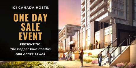 Open-House Networking Event To Discuss Copper Club Condos & Annex Towns tickets