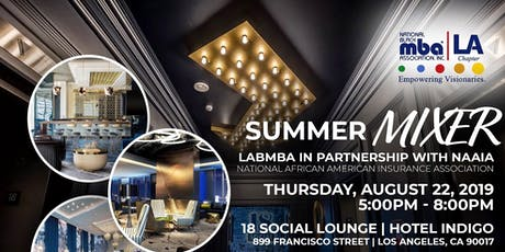 Summer Mixer - LABMBA & NAAIA tickets