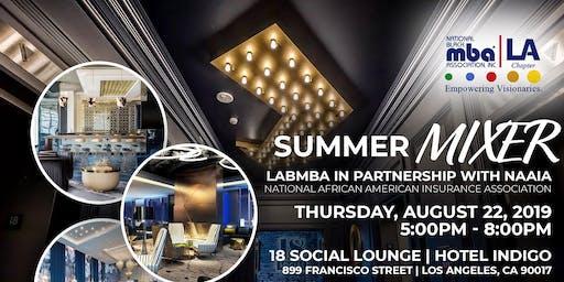 Summer Mixer - LABMBA & NAAIA