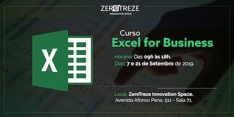 Excel for Business em Santos tickets