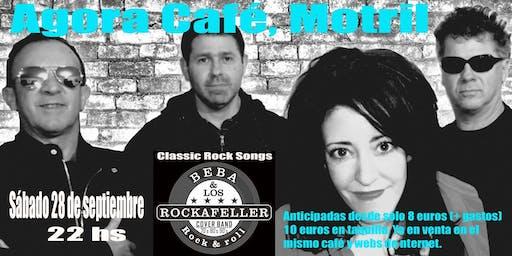 Beba & Los Rockafeller en el Ágora Café de Motril!