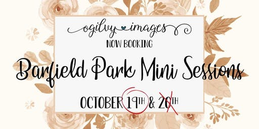 Barfield Park Mini Sessions 10.19.19