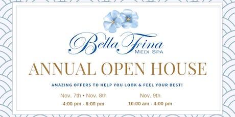 Bella Fina Medi Spa: 4th Annual Open House tickets