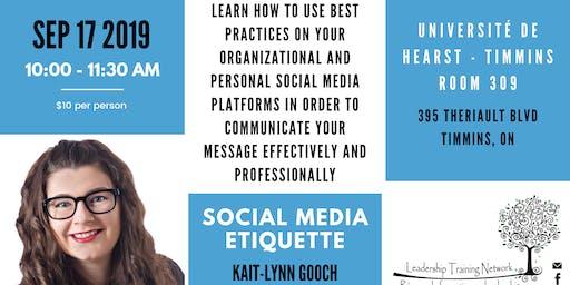 LTN Presents: Social Media Etiquette