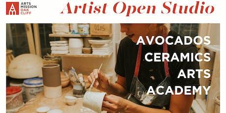 Artist Open Studio: Avocados Ceramics Arts Academy tickets